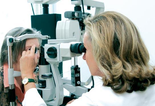 untersuchung glaukom