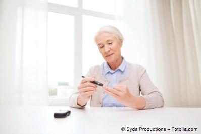 Bild von Diabetes und Sichtverschlechterung – Regelmäßige Kontrollen sind wichtig