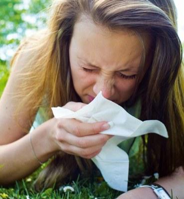 Bild von Allergien - gereizte Augen und die Folgen