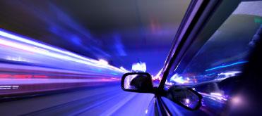 Bild von Müde Augen im Straßenverkehr