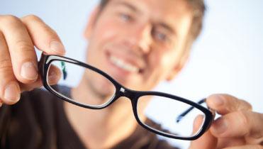 Bild von Brillenkauf – online oder im Geschäft