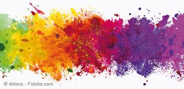 Bild von Alles so schön bunt hier – Wie wir Farben sehen