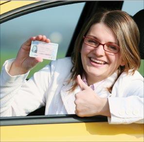Bild von Führerschein - mit und ohne Brille!