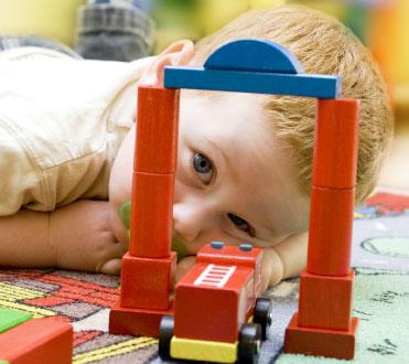 Bild von Augenerkrankungen bei Kindern rechtzeitig erkennen