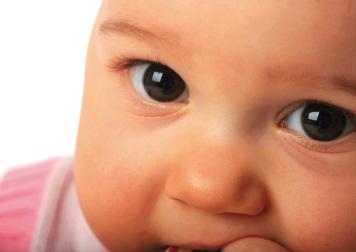 Bild von Kinderaugen