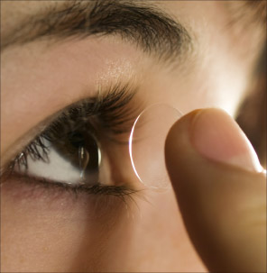 Bild von Die Erfindung der harten Kontaktlinse
