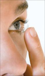 Bild von Kontaktlinsen