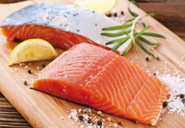 Bild von Scharfe Sicht durch fetten Fisch
