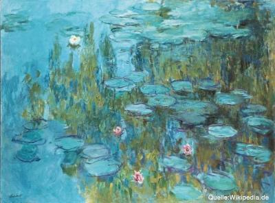 Bild von Auf zu trüben Ufern – Monets Blick auf die Seerosen