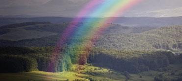 Bild von Regenbögen