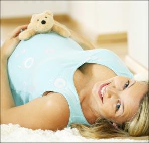 Bild von Kontaktlinsen während der Schwangerschaft