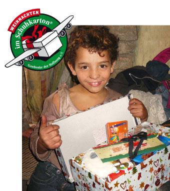 Bild von Weihnachten im Schuhkarton® - Veni Vidi sammelt für die Kinder dieser Welt