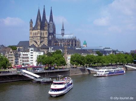 Bild von Sehenswert: Schiffstouren und Hafenrundfahrten in Köln