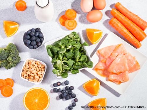 Bild von Vitamine für die Augen - Essen Sie sich gesund!