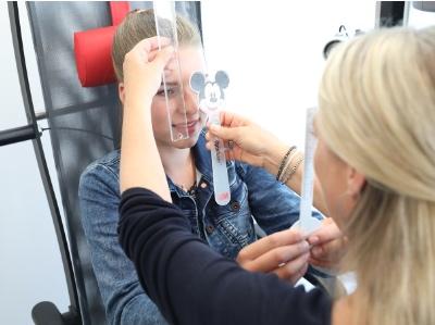Bild von Augen in der Schule – Die Orthoptik