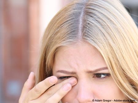 Bild von Augenzucken – Meist nicht mehr als störend