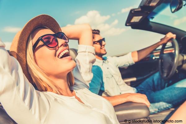 Bild von Im Sommer draußen – Vermeiden Sie Zugluft und direkte Sonne in den Auge
