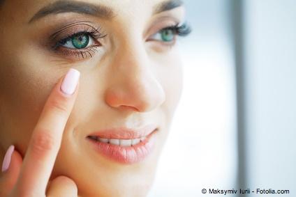 Bild von Make-up und Schminken – No-Go bei empfindlichen Augen?