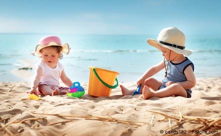 Bild von Sonnenstich – besonders für Kinder eine Gefahr
