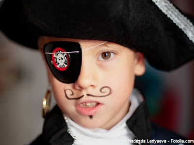Bild von Kleine Piraten - So wird die Amblyopie bei Kindern behandelt